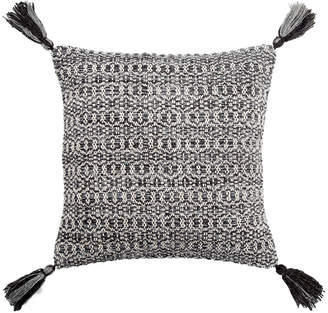 Jaipur Living Cerise Trellis Black & Gray Throw Pillow