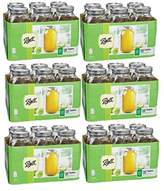 Ball Wide Mouth 1/2 Gal. Glass Jars Includes lids with bands (64 OZ - SET OF 6)