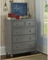 Hillsdale 5-Drawer Lake House Chest in Stone