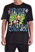 Jeremy Scott Men's Black Cotton T-shirt.