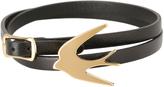 McQ 405834R1J55 Swallow Triple Wrap