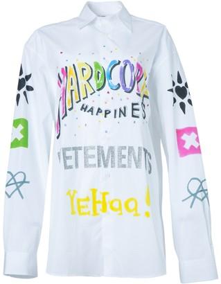 Vetements Hardcore Happiness Logo Shirt