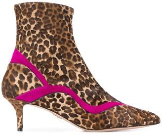 Paula Cademartori Misali Strong Animalier sock boots