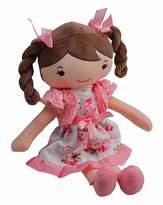 Fashion World 30cm Rag Doll Pink