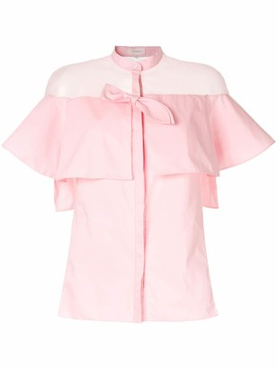 DELPOZO Sheer Shirt