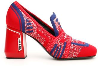Prada Knit Loafers 85