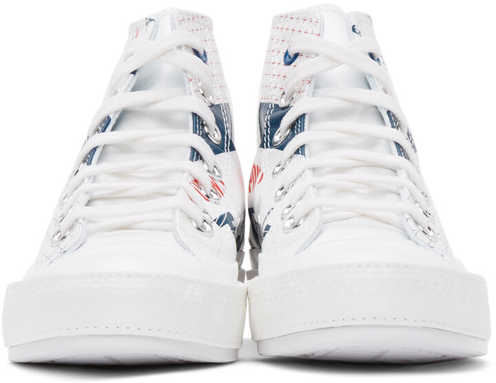 Thumbnail for your product : Converse White Tyvek Chuck 70 Hi Sneakers