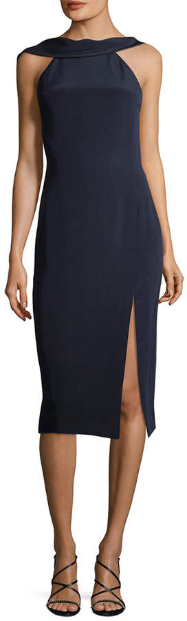 Cushnie et Ochs Silk Open-Back Dress