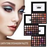 ZJchao Nature Nude Earth Tone Eyeshadow Palette, 105 Smoky Warm Color Waterproof Beauty Cosmetics High Pigment Powder Eye Shadows Pallet