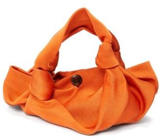The Row The Ascot Two Satin Clutch - Orange