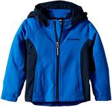 Columbia Kids SplashFlashtm II Hooded Softshell Jacket Boy's Coat