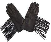 Soia & Kyo Women's Fringe Leather Gloves