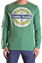 Frankie Morello Men's Green Cotton T-shirt.