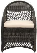 Safavieh Davies Wicker Arm Chair, Gray