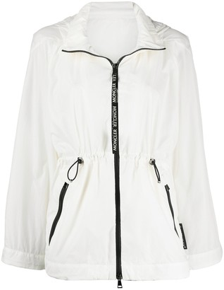Moncler Flared Zip-Up Jacket