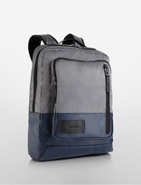 Calvin Klein Mesh Combo Tech Slim Backpack