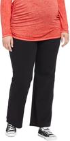 Motherhood Plus Size Secret Fit Belly Boot Cut Maternity Yoga Pants