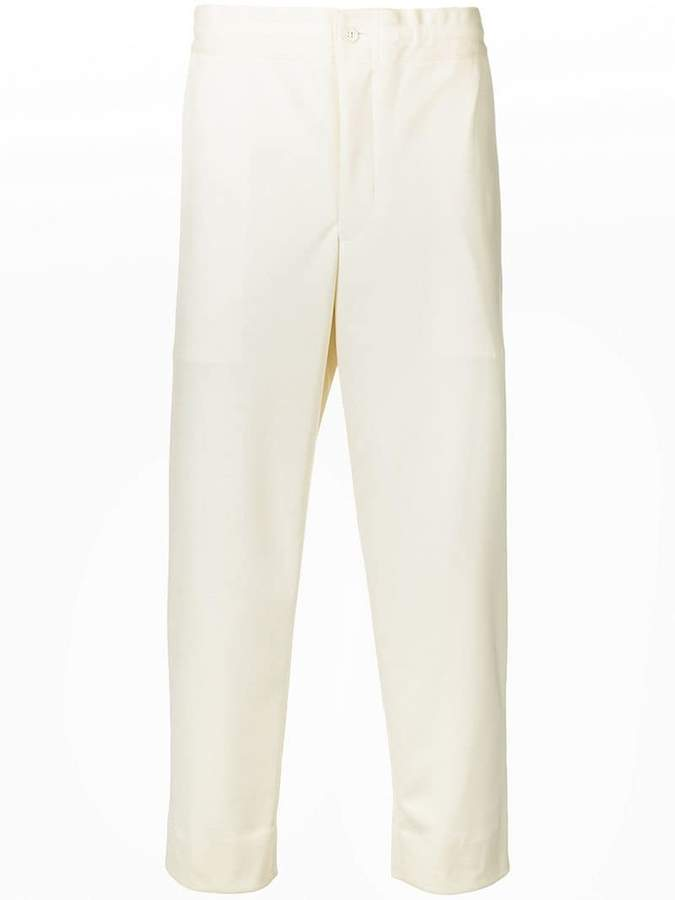 Comme des Garcons mid-rise cropped trousers