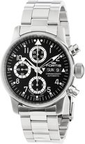 Fortis Men's 597.20.71 M Flieger Chronograph Automatic Day and Date Limited Edition Stainless Steel Watch