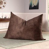 Wrangler Large Bean Bag Chair & Lounger Latitude Run Fabric: Chestnut