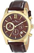 Lucien Piccard Men's LP-12356-YG-04 Mulhacen Analog Display Japanese Quartz Watch