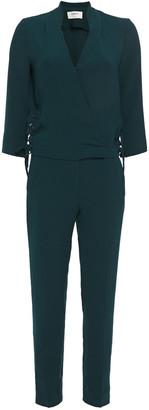 BA&SH Chiara Lace-up Crepe Jumpsuit