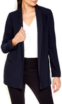 Wallis Satin Shawl Collar Crepe Jacket