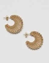 Pieces Hoop Earrings
