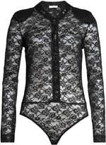 Nina Ricci Lace Bodysuit