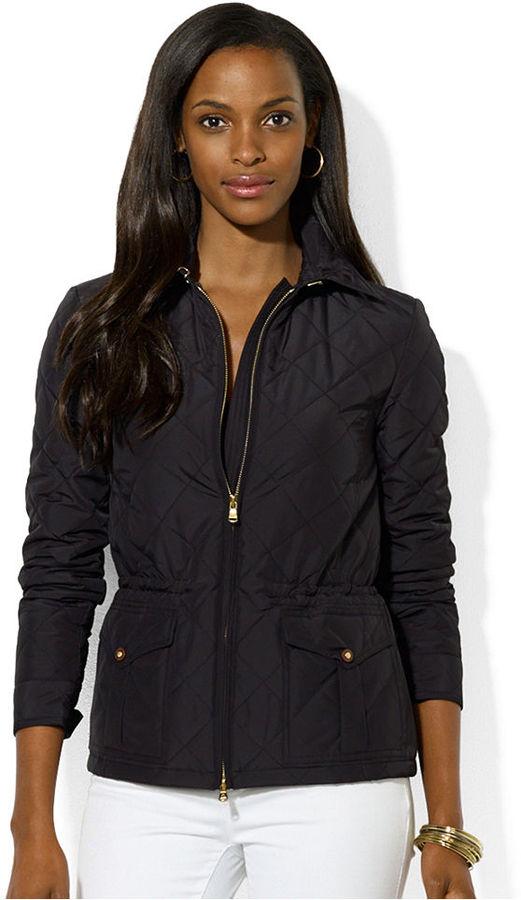 Lauren Ralph Lauren Quilted Zip-Front Jacket