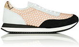 Loeffler Randall WOMEN'S RIO SUEDE SNEAKERS-NUDE, GOLD, BLACK, WHITE SIZE 6
