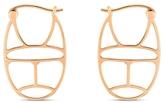 ginette_ny Scarab Mini Wish Hoop Earrings