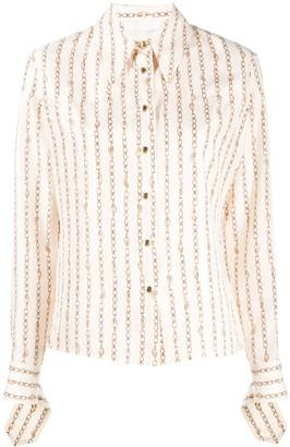 Chloé Chain-Print Shirt