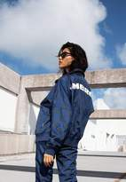 Missguided Umbro x Navy Oversized Batwing Track Top