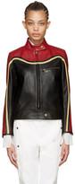 Chloé Black Leather Biker Jacket
