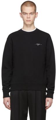 Off-White Black Logo Sweatshirt
