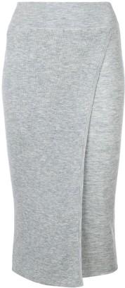 Cashmere In Love cashmere Capri knit skirt
