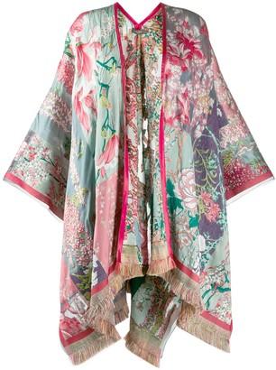 Etro Floral Jacquard Kimono