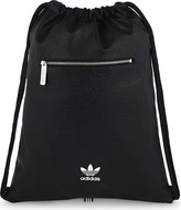 adidas Trefoil faux-leather extra-large drawstring backpack