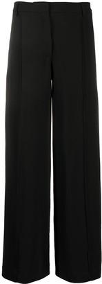Andrea Ya'aqov Front-Pleat Flared Trousers