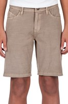 Volcom 'Surf N' Turf Solver' Hybrid Shorts (Big Boys)
