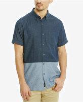 Kenneth Cole Reaction Men's Colorblocked Cotton Shirt