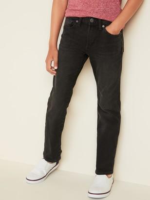 Old Navy Straight Built-In Flex Black Jeans for Boys