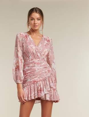 Ever New Valentina Petite Pleated Mini Dress