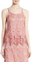 Alice + Olivia Women's Waverly Lace Camisole