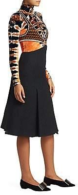 Proenza Schouler Women's Crochet Boucle Suiting Dress