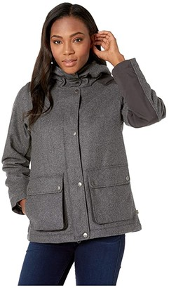 Fjallraven Greenland Re-Wool Jacket (Grey) Women's Clothing