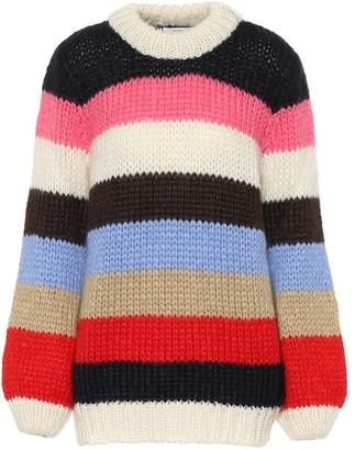 Ganni The Julliard mohair-blend sweater