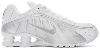 Nike White Shox R4 Sneakers