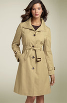 Wing Collar Trench Coat